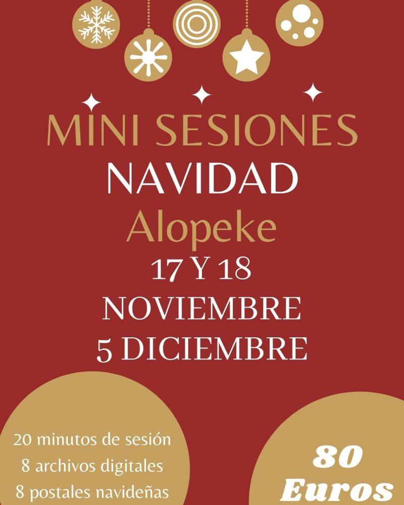 Mini Sesiones Navidad Alopeke